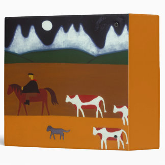 The Gaucho and his Cattle 2006 3 Ring Binder