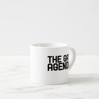 The gay agenda espresso cup