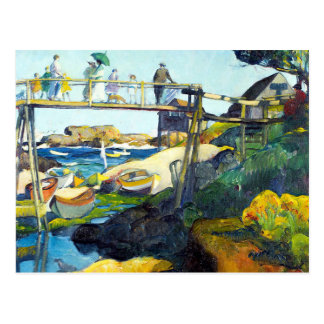 The Gay Bridge Maine USA Postcard