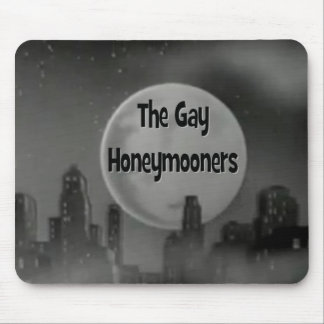 The Gay Honeymooners Mouse Pad