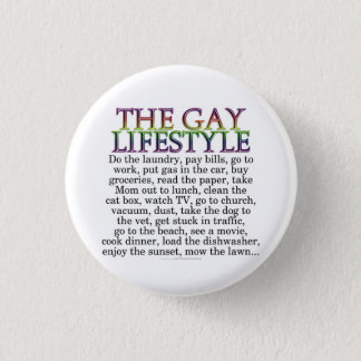 The gay lifestyle button