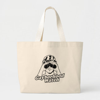 The Gayborhood Watch Canvas Bag
