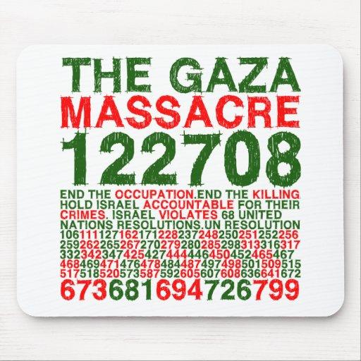 The Gaza Massacre Mouse Mat