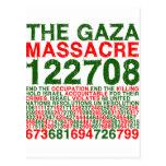 The Gaza Massacre Postcards