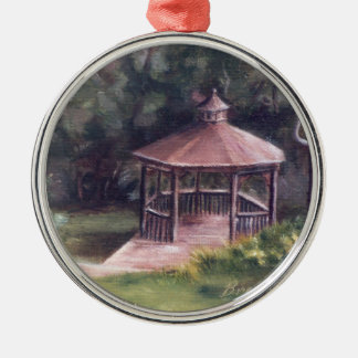 The Gazebo Metal Ornament