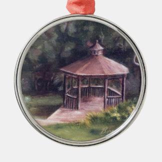 The Gazebo Metal Ornament