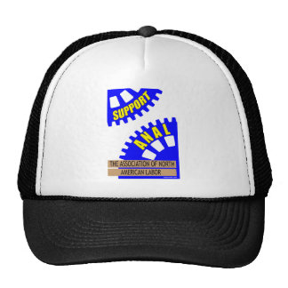 The Gears of Industry Grind the Worker Up! Trucker Hat