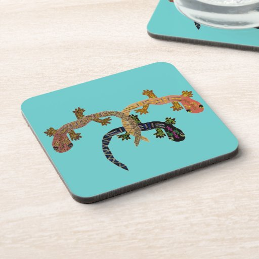 The Gecko Dance Coaster Set
