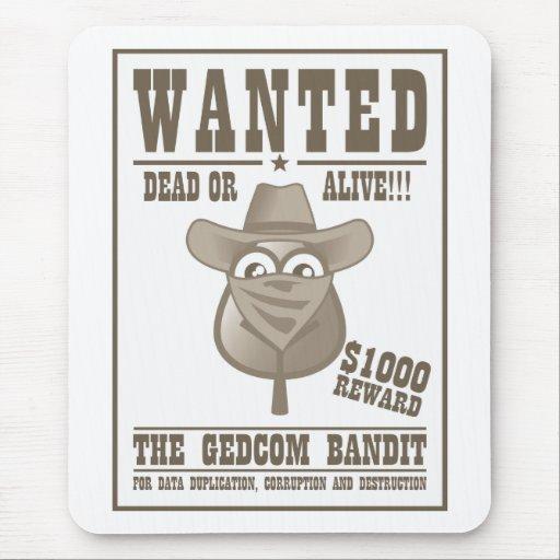 The GEDCOM Bandit Mouse Pad