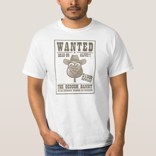 The GEDCOM Bandit T-Shirt