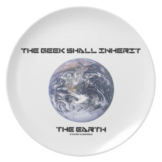 The Geek Shall Inherit The Earth Blue Marble Earth Plates