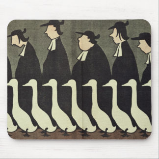 The Geese, anti-clerical Mouse Pad