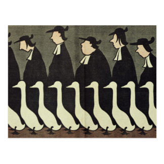 The Geese, anti-clerical Postcard