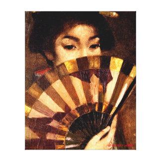 The Geisha Girl - George Henry Canvas Print