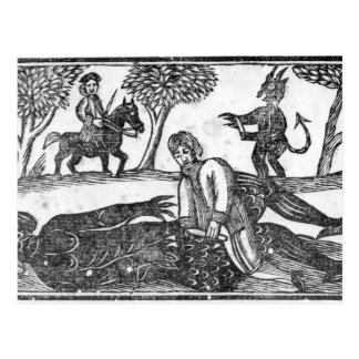 The Gelding of the Devil Postcard