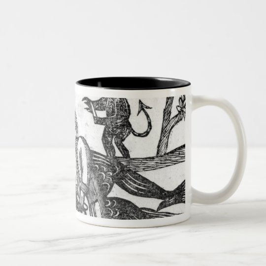 The Gelding of the Devil Two-Tone Coffee Mug
