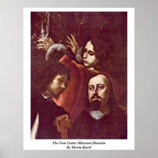 The Gem Cutter Miseroni Dionisio By Skreta Karel Posters