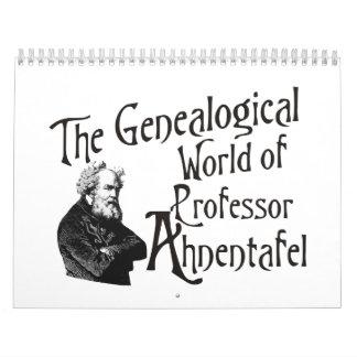 The Genealogical World of Prof. Ahnentafel 2015 Calendar