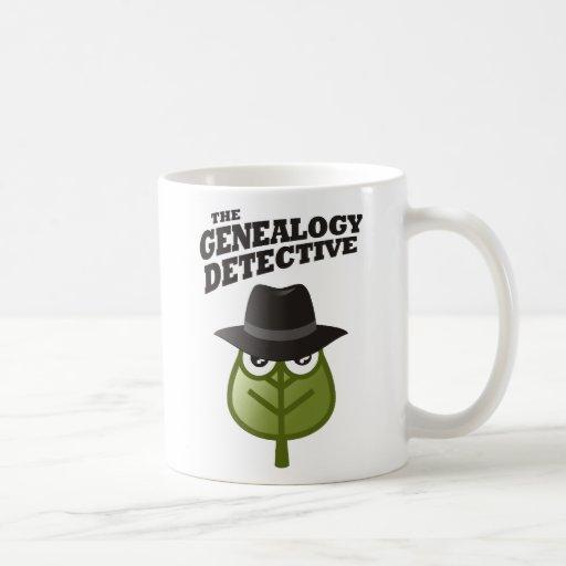 The Genealogy Detective Coffee Mug