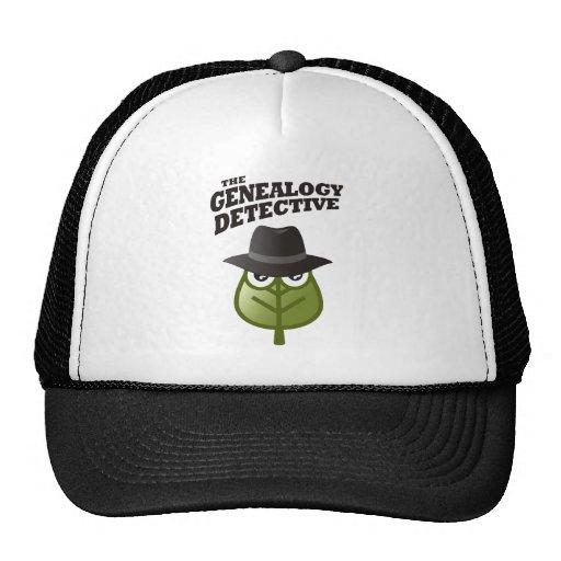 The Genealogy Detective Mesh Hats