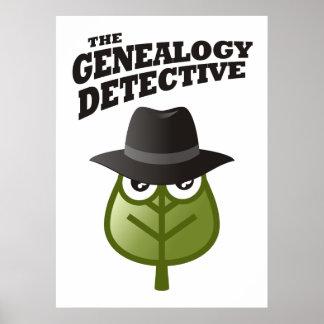 The Genealogy Detective Print