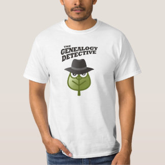 The Genealogy Detective T-Shirt