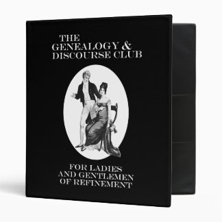 The Genealogy & Discourse Club 3 Ring Binder