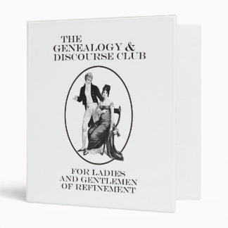 The Genealogy & Discourse Club Binder