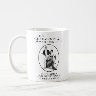 The Genealogy & Discourse Club Classic White Coffee Mug