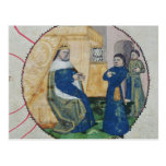 The Genealogy of Charles V and Charles VI Postcard