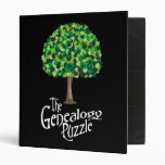 The Genealogy Puzzle 3 Ring Binders