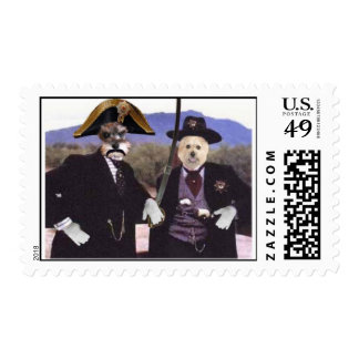 The General and Deputy Creno Postage Stamp