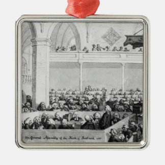 The General Assembly of the Kirk of Scotland Metal Ornament