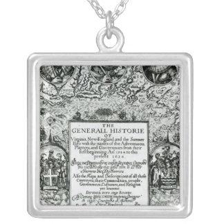 The General Histoire of Virginia Square Pendant Necklace