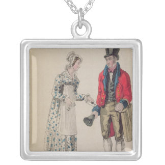 The General Postman Silver Plated Necklace