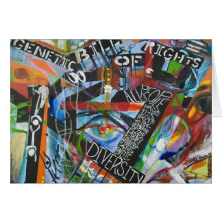 The Genetic Bill of Rights Painting #1 Card