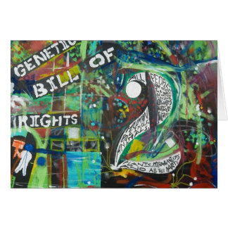 The Genetic Bill of Rights Painting #2 Card