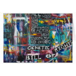 The Genetic Bill of Rights Painting #5 Card