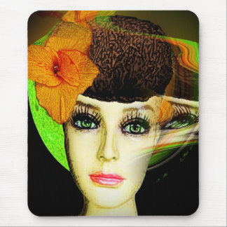 The Gentle Face of Fall Mouse Pad
