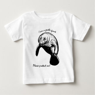 The Gentle Giant! Baby T-Shirt