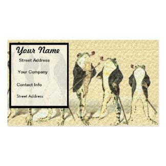 The Gentleman Business Card