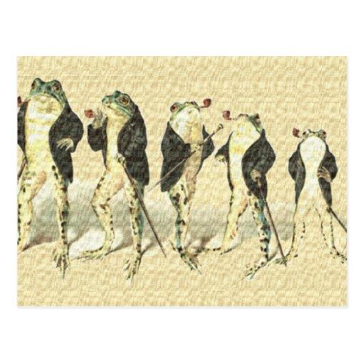 The Gentleman Postcard
