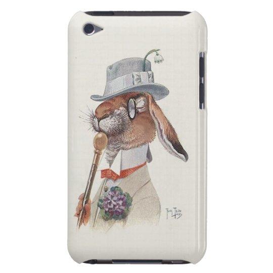 The Gentleman Rabbit - Cute Vintage Thiele Art iPod Touch Case-Mate Case
