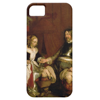 The Gentleman Soldier (oil on canvas) iPhone SE/5/5s Case
