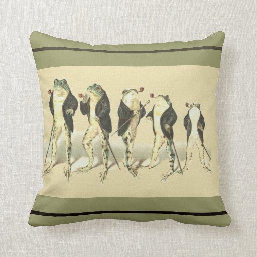 The Gentleman Throw Pillows