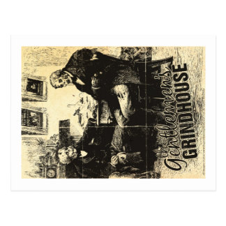 The Gentlemen's Grindhouse Postcard 1 of 4