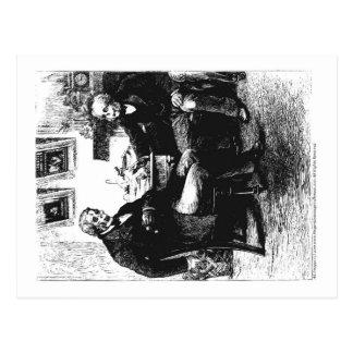 The Gentlemen's Grindhouse Postcard 2 of 4