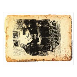 The Gentlemen's Grindhouse Postcard 3 of 4