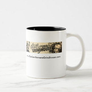 The Gentlemen's Grindhouse two tone mug. Two-Tone Coffee Mug
