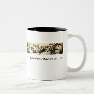 The Gentlemen's Grindhouse two tone mug. Two-Tone Coffee Mug